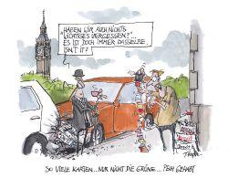 Brexit: Was Sie bei Reisen mit dem Auto beachten müssen