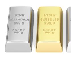 Gold und Palladium sind die Jahresauftakt-Sieger